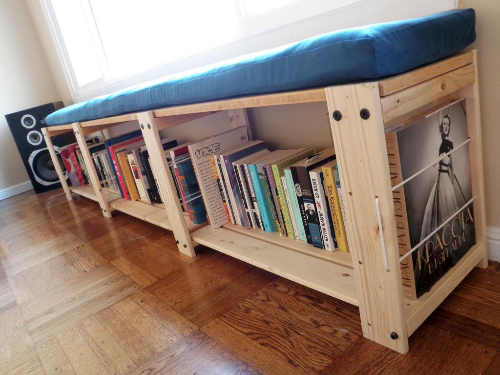 Сделать деревянную книжную полку своими руками